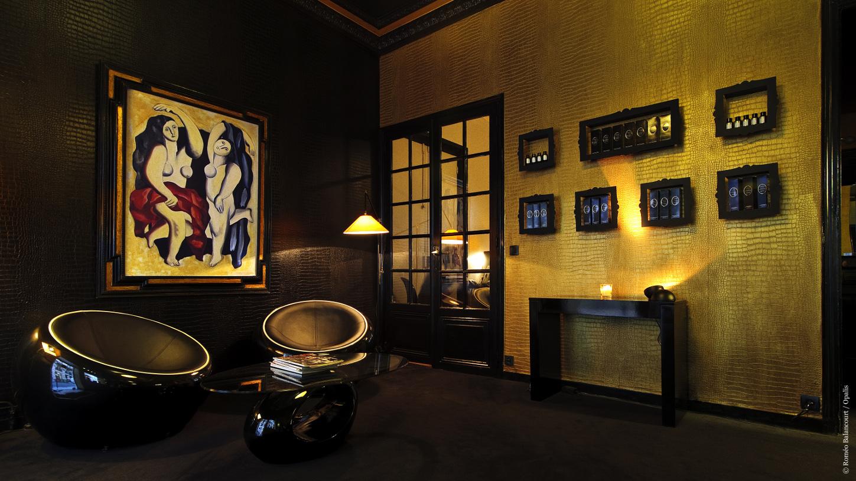 Notre visite myst re au salon de coiffure opalis paris 8 for Salon de coiffure paris 8