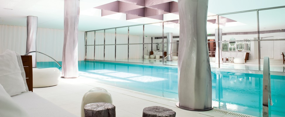 Spa my blend au royal monceau paris for Piscine 75008