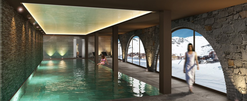 Spa le val thorens th ma for Hotel autour de moi