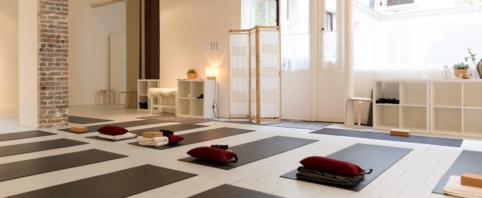 qee paris 2 palais royal yoga pilates barre au sol. Black Bedroom Furniture Sets. Home Design Ideas